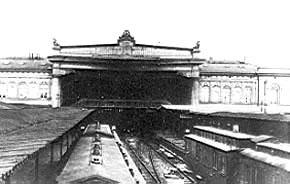 Blick in die bahnhofshalle um 1920 dieses bild enstand um 1920 und