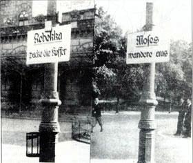 Q: Braunschweiger Tageszeitung, ohne Datum, Foto: Alt. Aus: Bein, Juden in Braunschweig, S. 114.